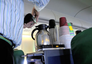 Why You Can't Get a Good Cup of Coffee on an Airplane